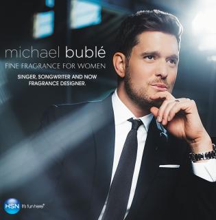 Michael Bublé a füleink után az orrunkat is meghódítja