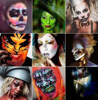Halloweeni sminklecke a legprofibb sminkesektől