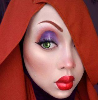 Így sminkeld magad Disney hőssé, ha hidzsábot viselsz