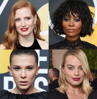 Az idei Golden Globe sztárjaitól garantáltan megtanulhatod, hogy sminkelj, ha fekete ruhába bújsz