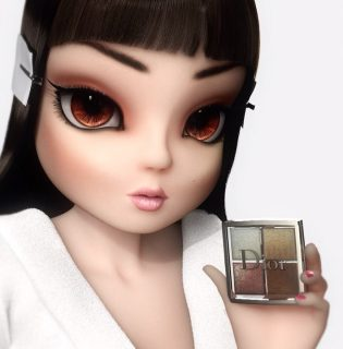Nagyon rosszul választott modellt a Dior legújabb sminkterméke reklámozásához
