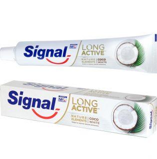 Ez áll a hype mögött – Signal Long Active Nature Elements kókuszos fogkrém (x)