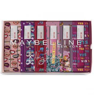Limitált dizájnkollekcióval jelentkezik a Maybelline folyékony rúzsa