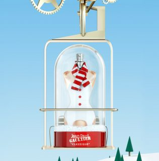 Hógömbös parfümmel készül karácsonyra a Jean Paul Gaultier