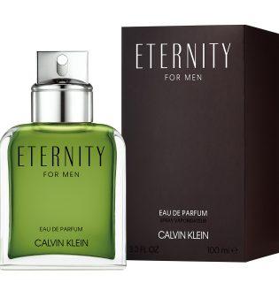 Illatújdonság férfiaknak: ETERNITY Calvin Klein Eau de Parfum (x)
