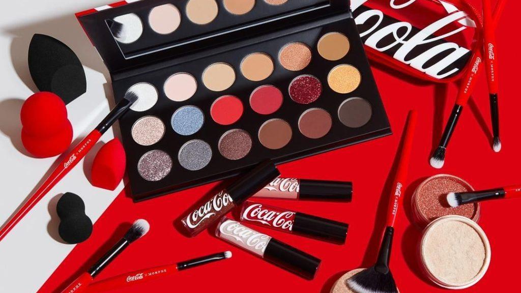 Morphe x Coca Cola sminkkollekció
