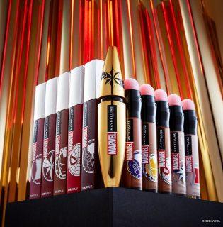Újdonság: Maybelline x Marvel sminkkollekció