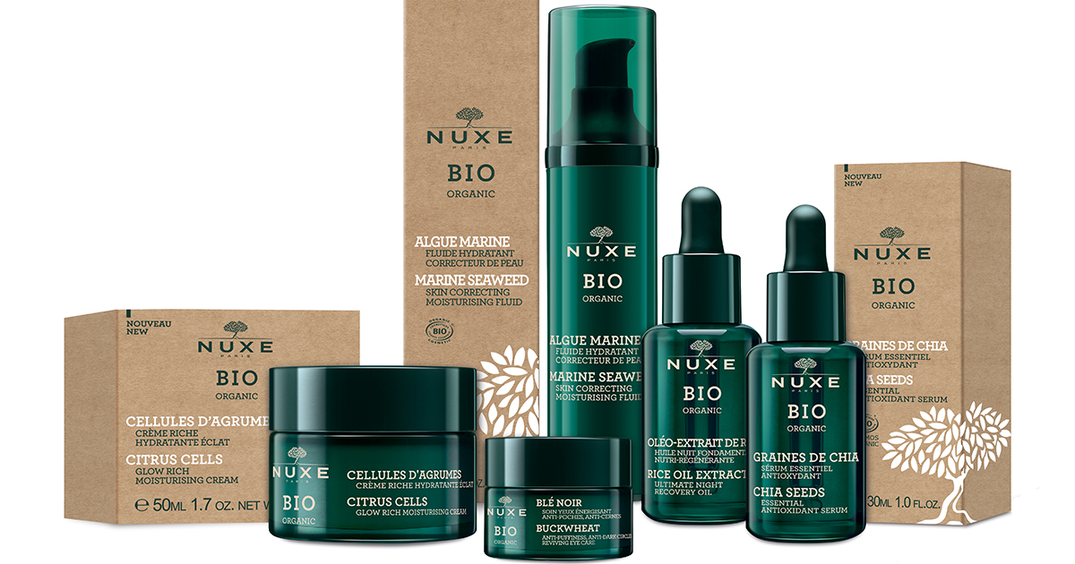 Nuxe Bio Organic újdonságok