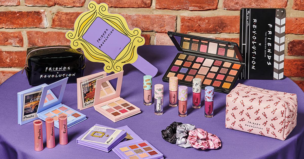 Revolution Makeup x Friends sminkkollekció
