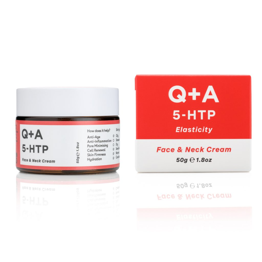 5 HTP FACE NECK CREAM Bottle + Box 50g 5700 Ft