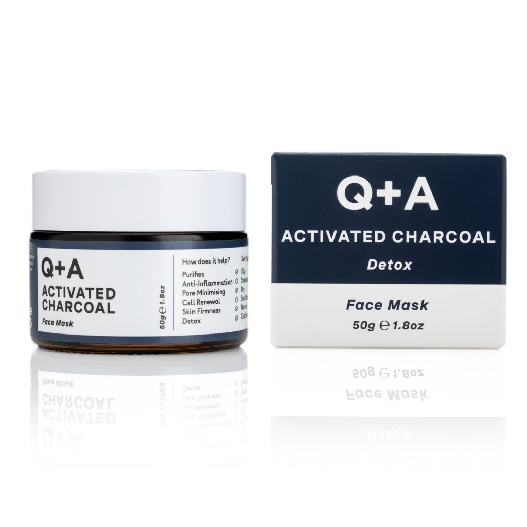 ACTIVATED CHARCOAL FACE MASK Bottle + Box 50 g 3300 Ft