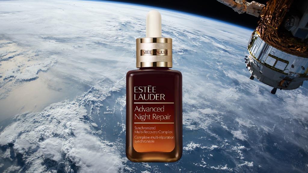 Az Estée Lauder szérumát a Nemzetközi Űrállomáson fogják fotózni.