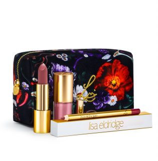 Ez a kozmetikai táska mindent visz! – Lisa Eldridge Fantasy Florals Lip Kits