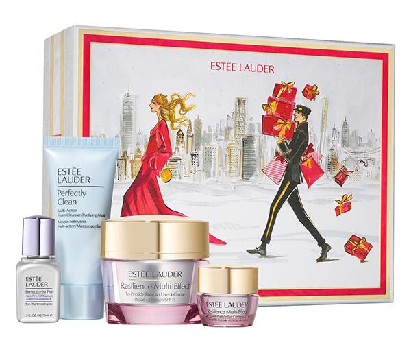 Estée Lauder Resilience Multi-Effect bőrápolási szett