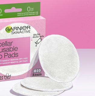Újdonság: Garnier Eco Pads mikroszálas sminklemosó korong