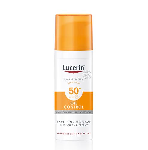 Eucerin Sun Oil Control Napozó Krém-gél Arcra SPF 50+