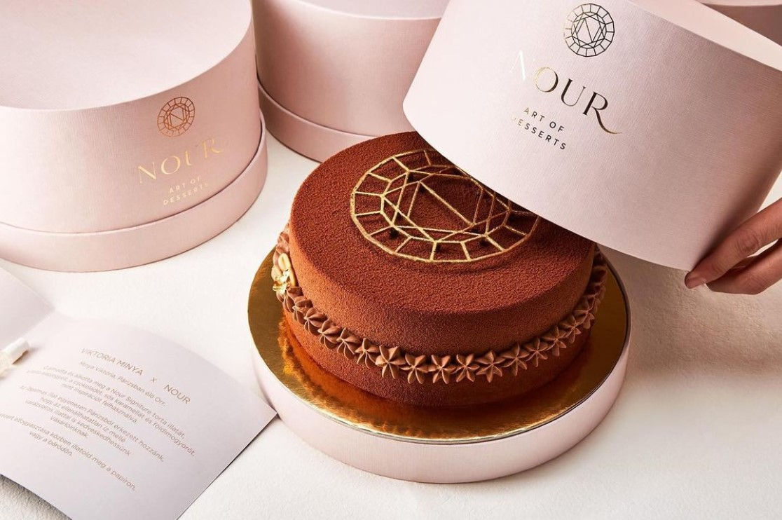 Minya Viktória x Nour Art of desserts (Fotó: Nour - Art of desserts)